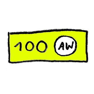 AW kinkekaart 100€