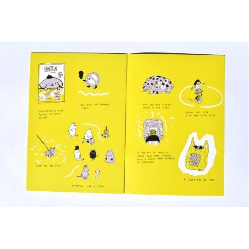 "Koomiksiraamat ""Japan"" (Liisa Kruusmägi)"