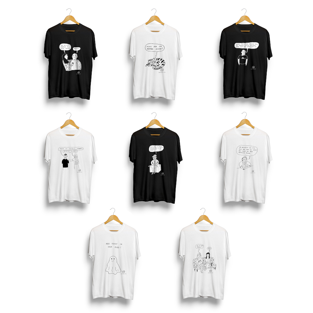 Kaheksa särki (-53€)