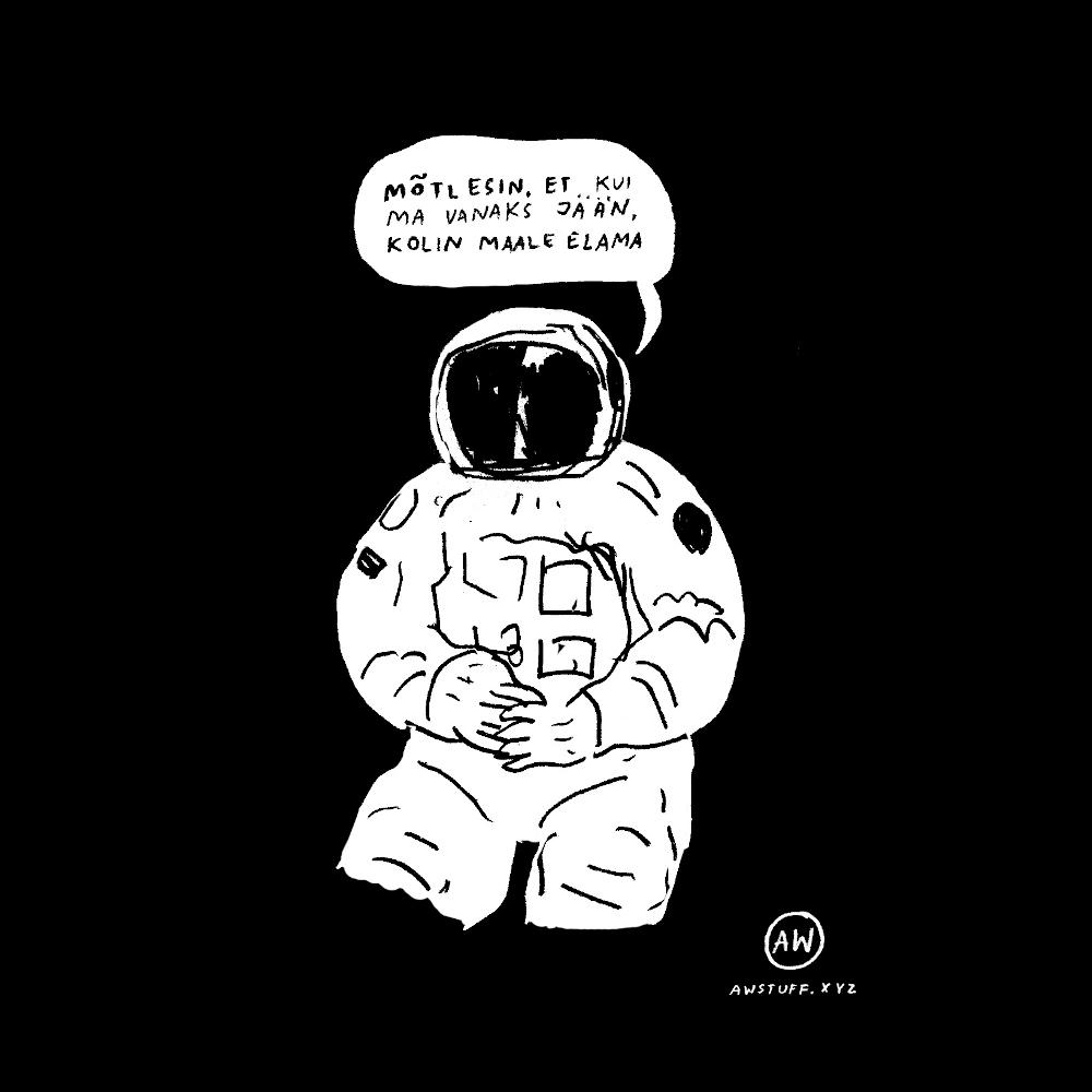 """Must pusa """"Kosmonaut"""""""