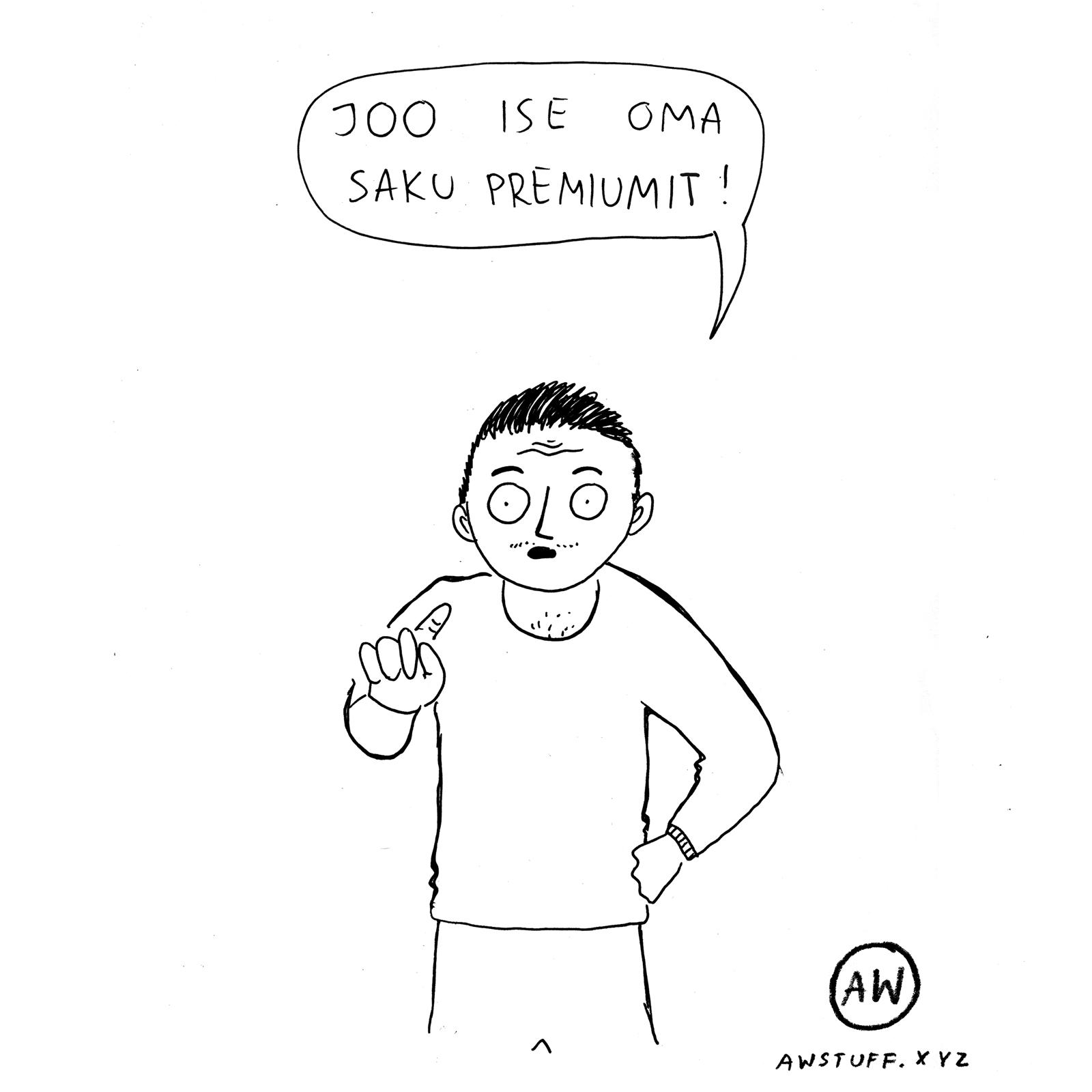 """Kott """"Saku Premium"""""""